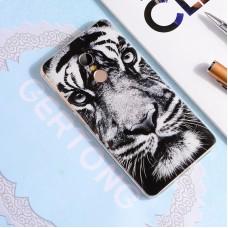 Чехол-бампер для XiaoMi Redmi 5 (Белый тигр)
