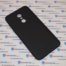 Чехол-бампер для XiaoMi Redmi 5Plus (Черный силикон)