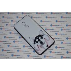 Чехол-бампер для XiaoMi Redmi 5Plus (Хаски)