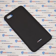 Чехол-бампер для XiaoMi Redmi 6A (Черный силикон)