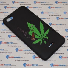 Чехол-бампер для XiaoMi Redmi 6A (Smoke Marijuana)