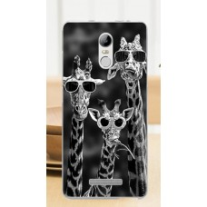 Чехол-бампер для XiaoMi Redmi Note 3/3 Pro (Жирафы)