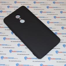 Чехол-бампер для XiaoMi Redmi Note 4X (Черный силикон)