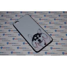 Чехол-бампер для XiaoMi Redmi Note 5A (Хаски)