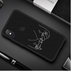 Чехол-бампер для XiaoMi Redmi Note 7 (Дружба)