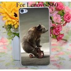 Чехол-бампер для Lenovo S60 (Медведь)