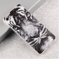 Чехол-бампер для Meizu U10 (Белый тигр)