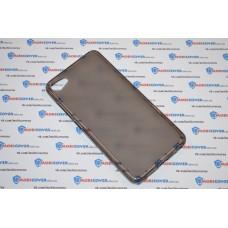 Чехол-бампер для Meizu U10 (Прозрачный силикон)